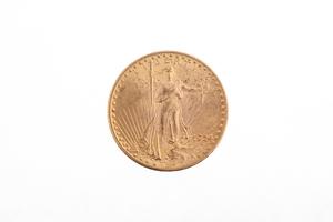 1924 Gold $20 Saint Gaudens Coin BU