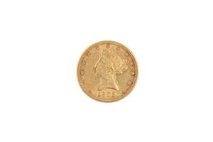 1905 Gold $10 Liberty Coin BU