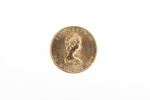 1 oz Canada Maple Leaf Gold Coin 1979 BU