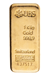 Kilo 999.9 Gold UBS Switzerland
