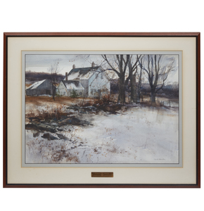 Paul Strisik (1918-1998) Painting,