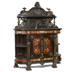 Herter Brothers American Renaissance Cabinet Commissioned for Thurlow Lodge