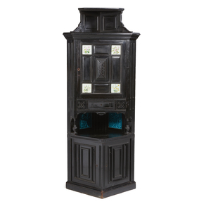 Kimbel & Cabus Labeled Corner Cabinet