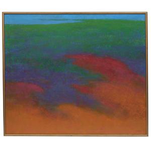 Richard Mayhew (b.1924) Painting,