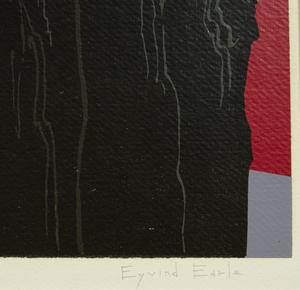 Eyvind Earle (1916-2000), Serigraph,