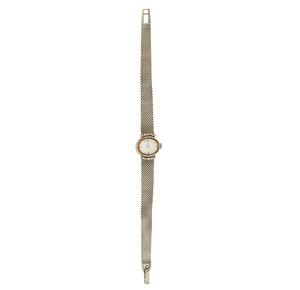 Lady's Omega 14k Diamond Watch