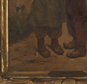 Marie Mizzi Wunsch (1862-1898) Painting