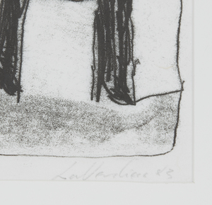 Bruno LaVerdiere (b.1937) Monotype