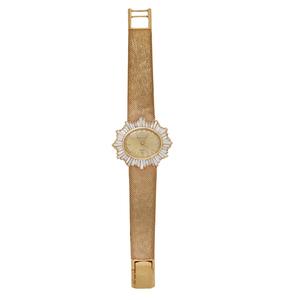 Lady's Bulova 14k Diamond Watch