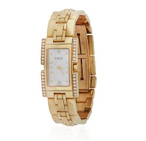 Lady's Fred 18k Diamond Watch