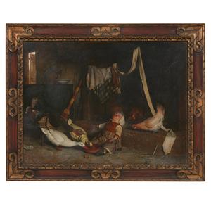 Gaetano Chierici (Italian, 1838-1920) Painting