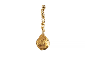 Gold Nugget Tie Tack, 2.2 grams