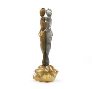 Figural Art Glass Sculpture
