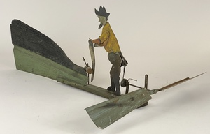 An American Folk Art Lumberjack Whirligig