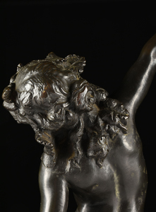 FRENCH SCHOOL, (19th/20th Century) A BRONZE FIGURAL SCULPTURE,