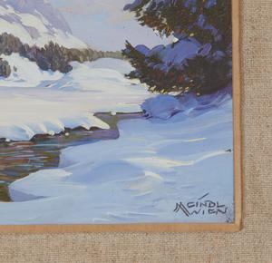 Albert Meindl (1891-1967) Painting,