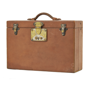 Louis Vuitton Small Toiletry Trunk in Pig Skin