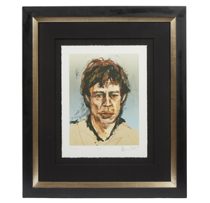 """Ronnie Wood Giclee, """"Mick"""" Jagger"""