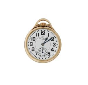 Elgin, 21 Jewels, B.W. Raymond Pocket Watch