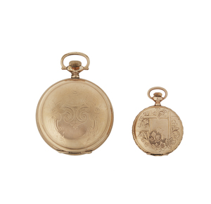 Seth Thomas Pocket Watch and a Gold Filled Case
