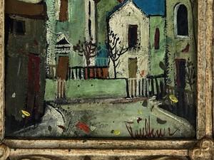 Henry Lawrence Faulkner (1924-1981), Oil on Masonite