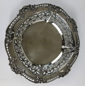 Shreve and Co. San Franscisco Pierced Sterling Tray