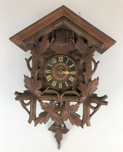German Carved Cuckoo Clock