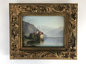 Pair of German Landscape Paintings