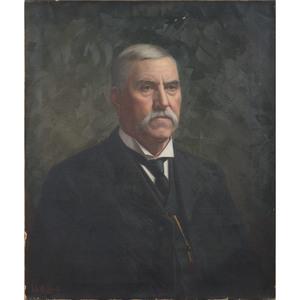 Aurelius Revenaugh (American, 1840-1908), Portrait of a Man
