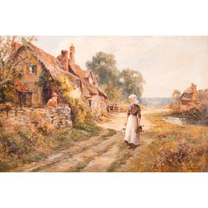 Ernest Walbourn (English, 1872-1927), Landscape