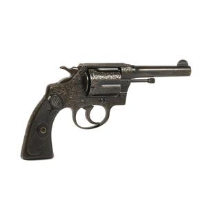 Engraved Colt Police Positive