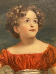 Sir Thomas Phillips (English, 1770-1845), Portrait of a Child, with Cincinnati Albee Theatre Provenance