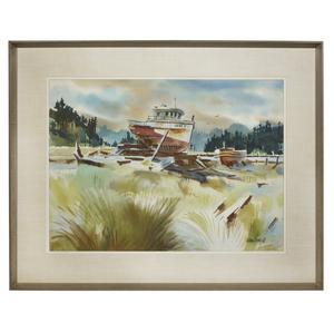Milford Zornes (1908-2008) Watercolor,