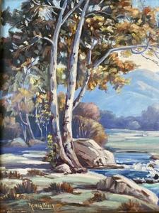 Nevada Wilson (American, 1877-1961), Landscape
