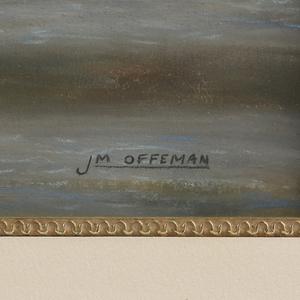 JAMES OFFEMAN (American b.1954) A DRAWING,