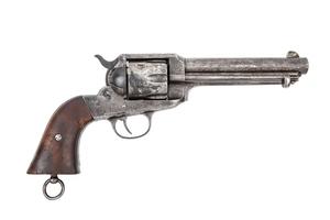 Remington 1890 Single Action Revolver in .44 W.C.F.