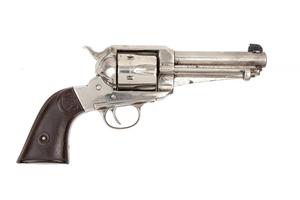 Remington 1875 Revolver with shortened barrel