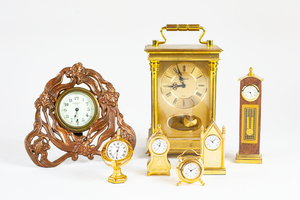 Collection of Desk and Shelf Clocks