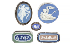 Wedgwood Sterling Boxes