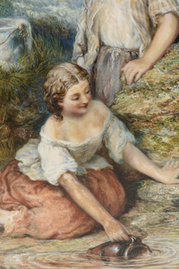 THOMAS JOHN EWBANK (Scottish a. 1826-1863) A PAINTING,