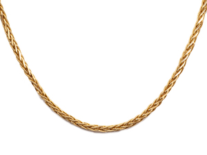 22k Foxtail Necklace