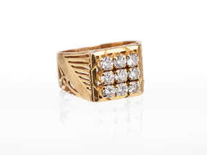 Diamond 22k RIng
