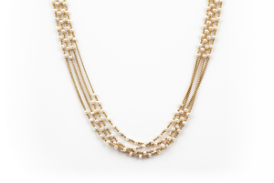 22k Pearl Necklace