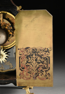 A LOUIS XIV STYLE ORMOLU MOUNTED BOULLE MARQUETRY BRACKET CLOCK, LATE 19TH CENTURY,