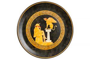 Two Greek Replica Ceramic Trays