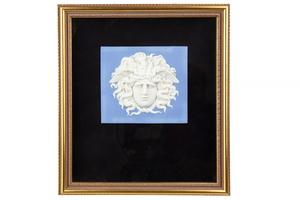 Wedgwood Blue Jasper Medusa Plaque