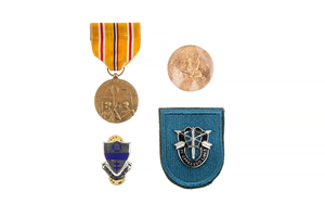 US Submarine, Special Forces, Airborne, and Miscellaneous Medals & Insignia and Wings