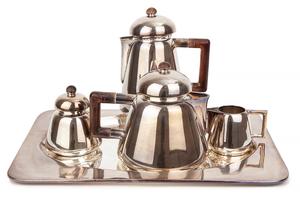 5 Piece Contemporary Coffee / Tea Service