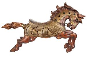 Large Decorative Wooden Horse