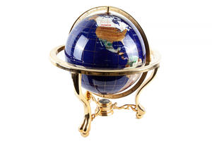 Lapis and Hardstone Globe